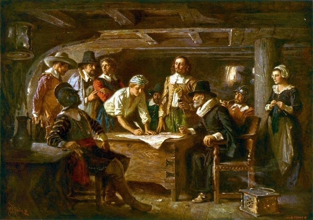 The Pilgrims, Mayflower Compact, and Thanksgiving