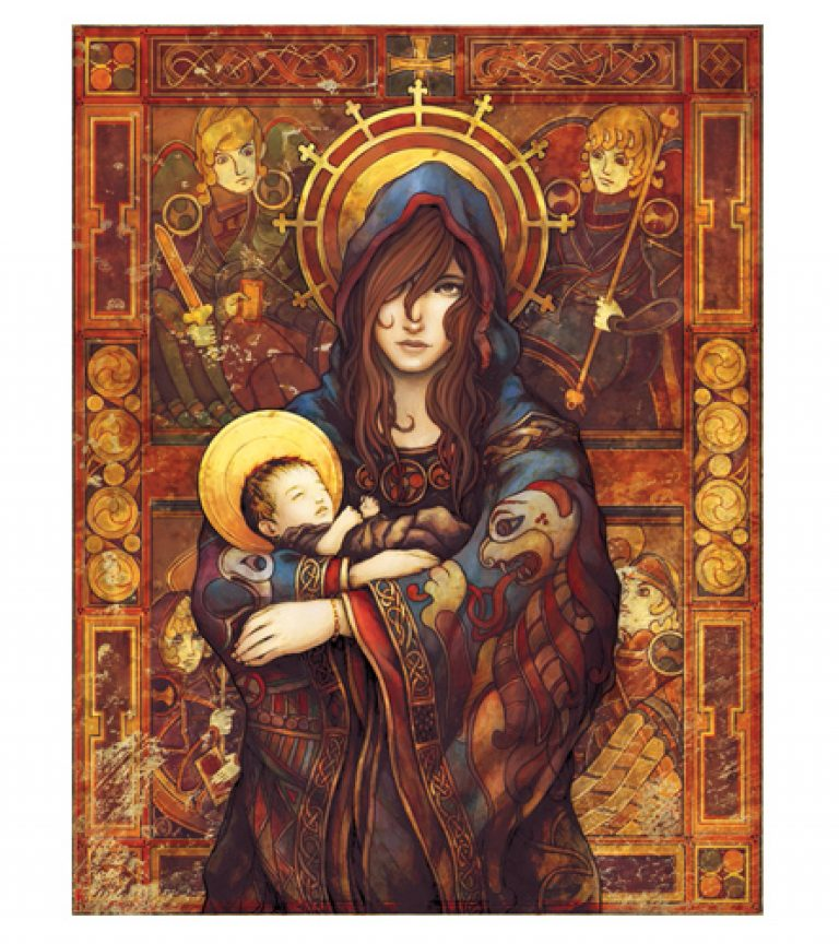 "Madonna and Child Poster - exclusive from ""The Gospels"" – Drive Thru ..."