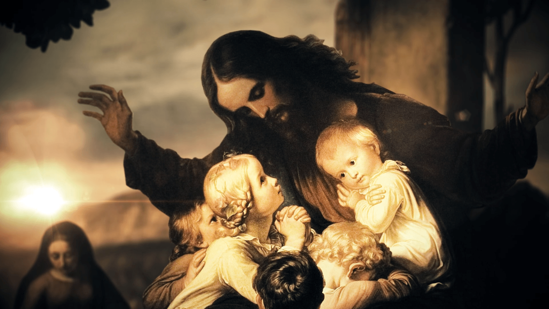 Jesus Blessing the Children – The Story on the Road to Jerusalem